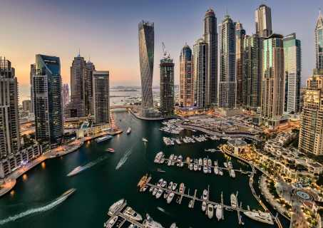Los Angeles (LAX) - Dubai (DXB)